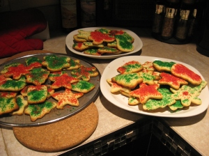Sugar cookies, well decorated ;)