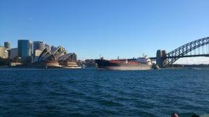 Large ships!